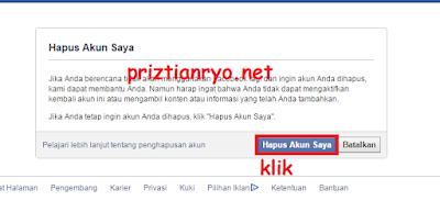 Cara Hapus Akun Facebook Secara Permanen<span class=