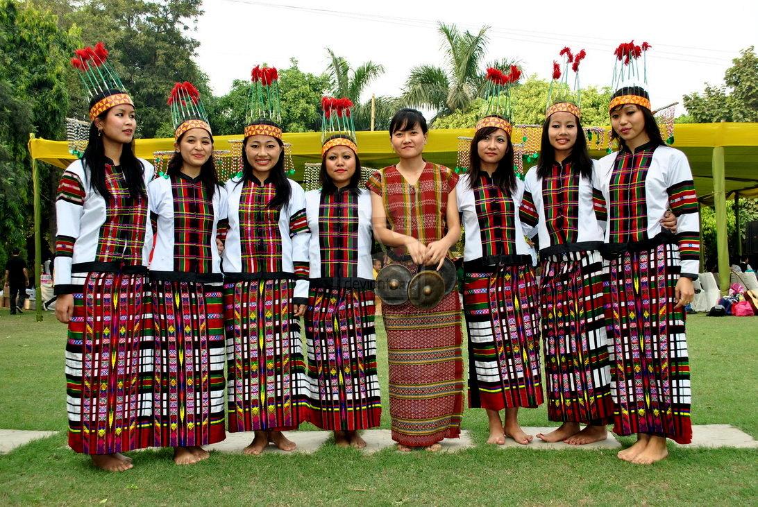 Madhumita's Blog-Room: Traditional Dress of 7 North East ...