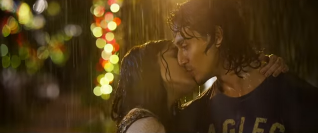 Shraddha Kapoor and Tiger Shroff from the movie Baaghi.