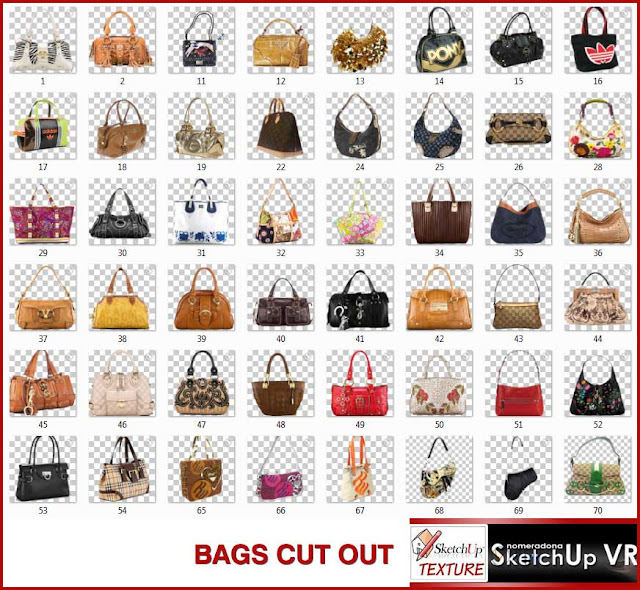 cut out- bags - photoshop patch #1