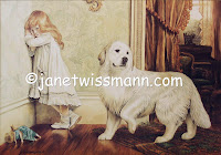Ltd. Edition Print, A Very Special Pleader - Great Pyrenees