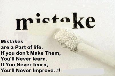 Mistakes Are A Part Of Life Quotes And Sayings