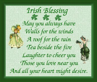Danielle Heartfelt Home Happy Patricks Day Jpg 340x290 Birthday Wishes Irish Blessing