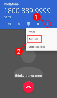 Add call par press kare