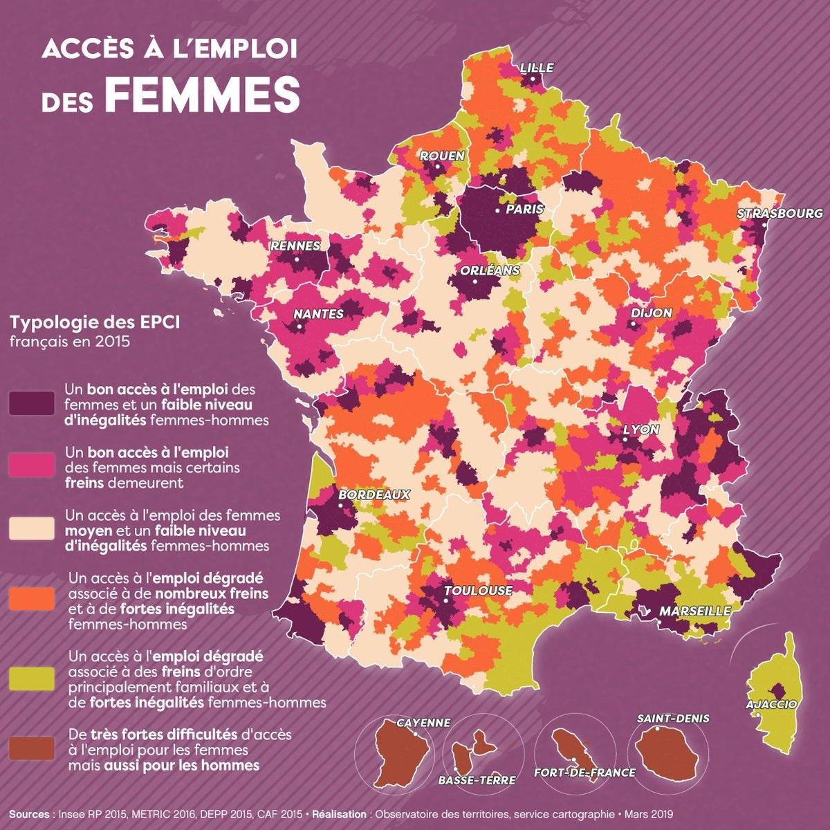 Cartographie Numerique La Condition Des Femmes Dans Le Monde A