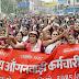 बिहार : बिहार आंगनबाड़ी कर्मचारी संघ के आह्वान पर 15 सूत्री मांग को लेकर चौथे दिन भी कार्य बहिष्कार