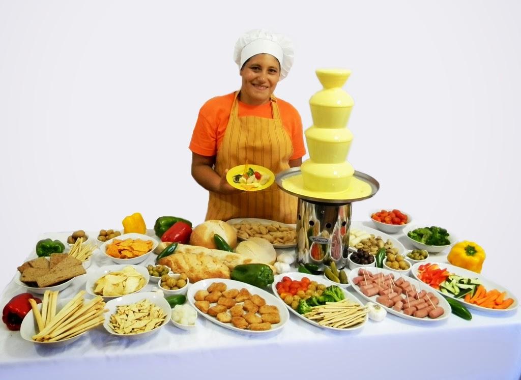 bocaditos mesa salada
