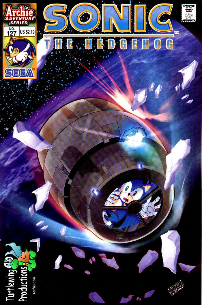 Read online Sonic The Hedgehog comic -  Issue #127 - 1