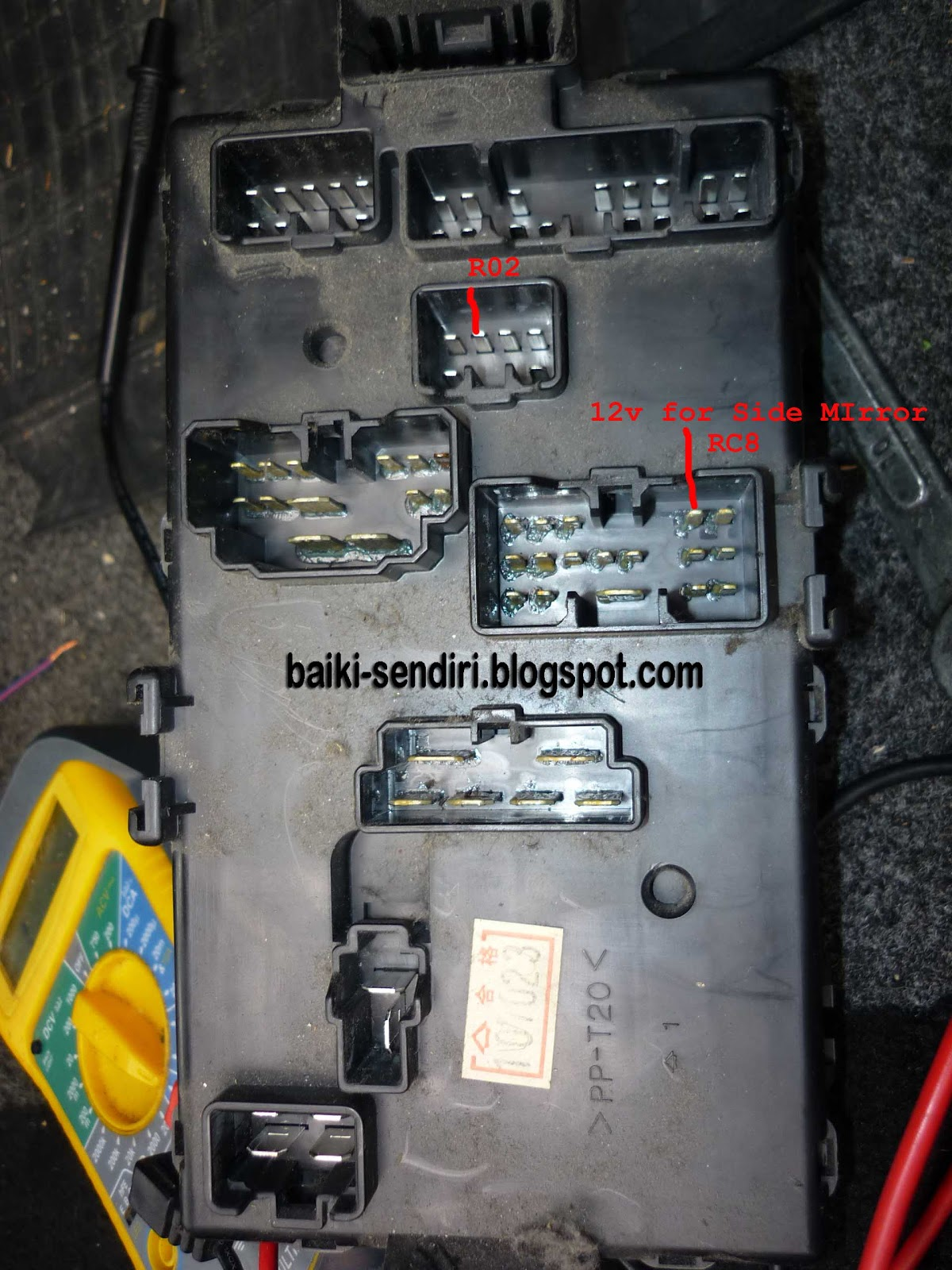 daihatsu hijet fuse box location diy fix on your own daihatsu l7 perodua kelisa [ 1200 x 1600 Pixel ]