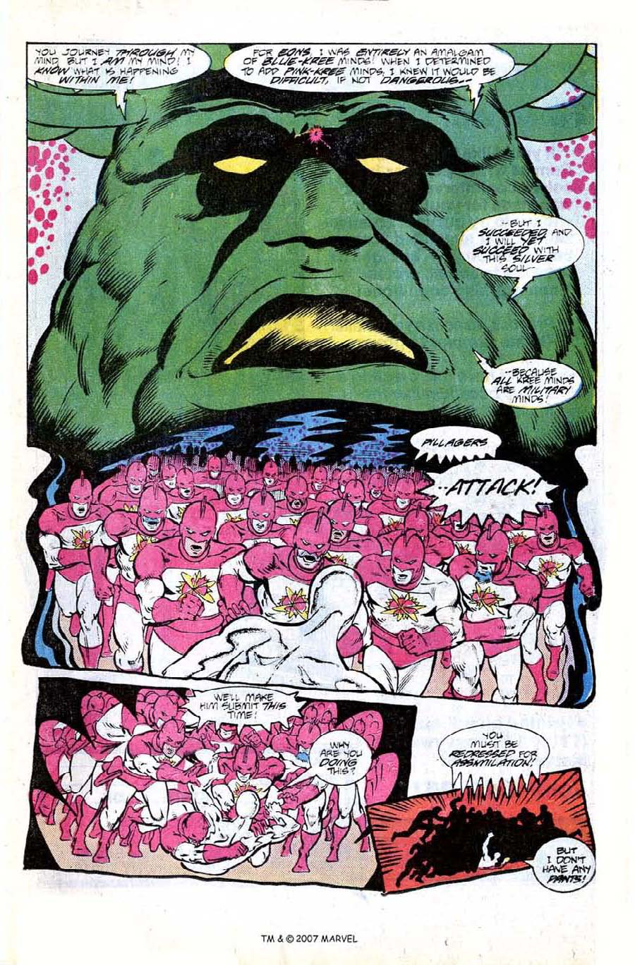 Read online Silver Surfer (1987) comic -  Issue #8 - 13