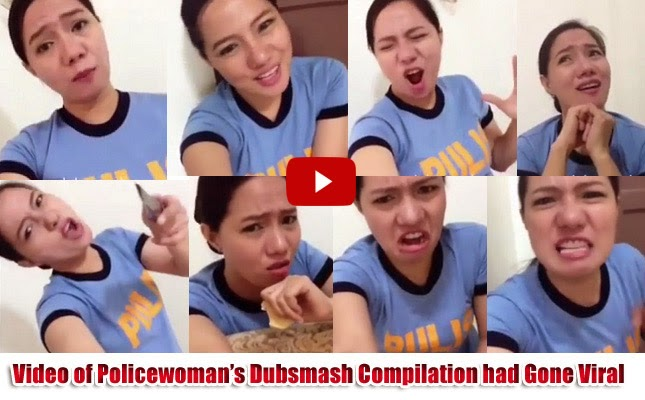 Video of Policewoman's Dubsmash Compilation had Gone Viral
