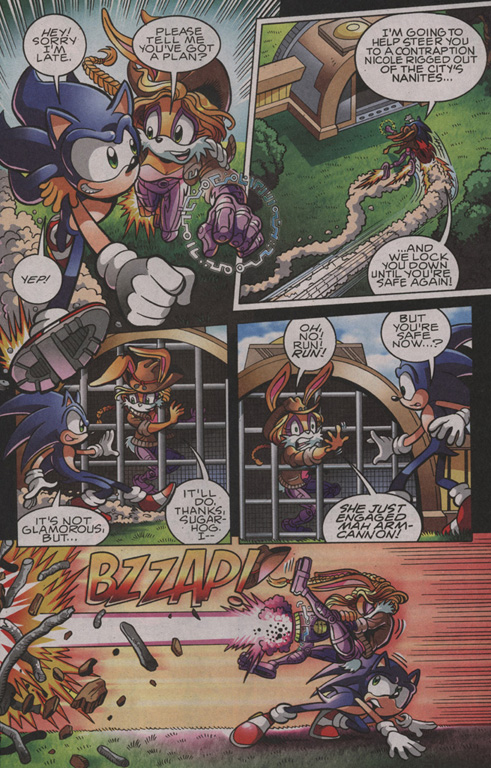 Read online Sonic The Hedgehog comic -  Issue #203 - 12