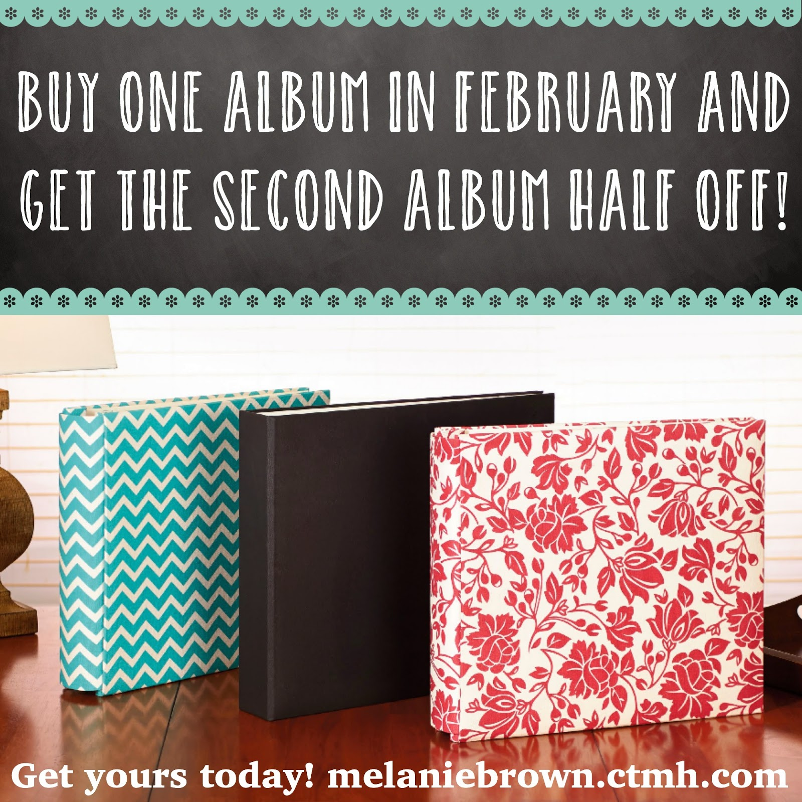 Buy One Get One half off albums