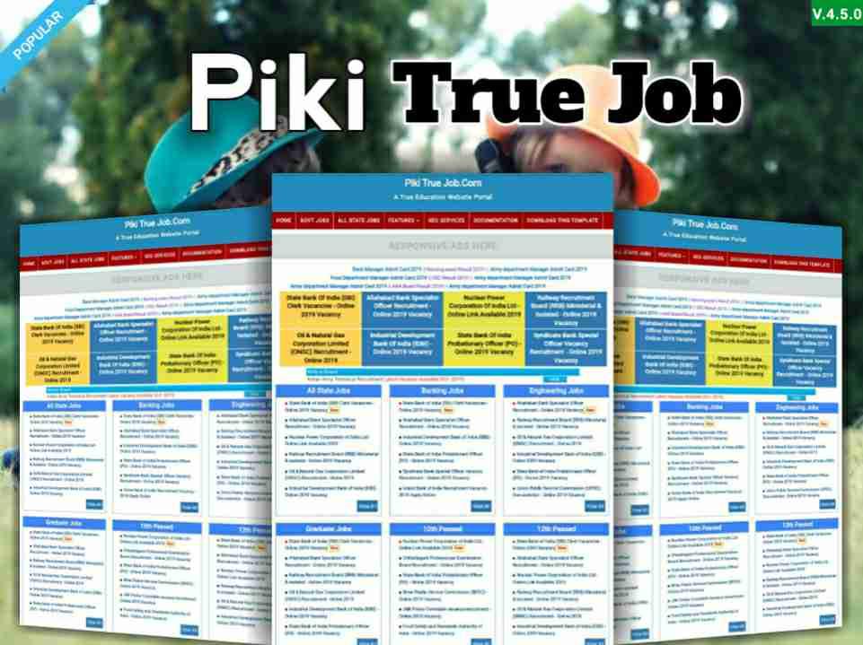 Piki True Job Template