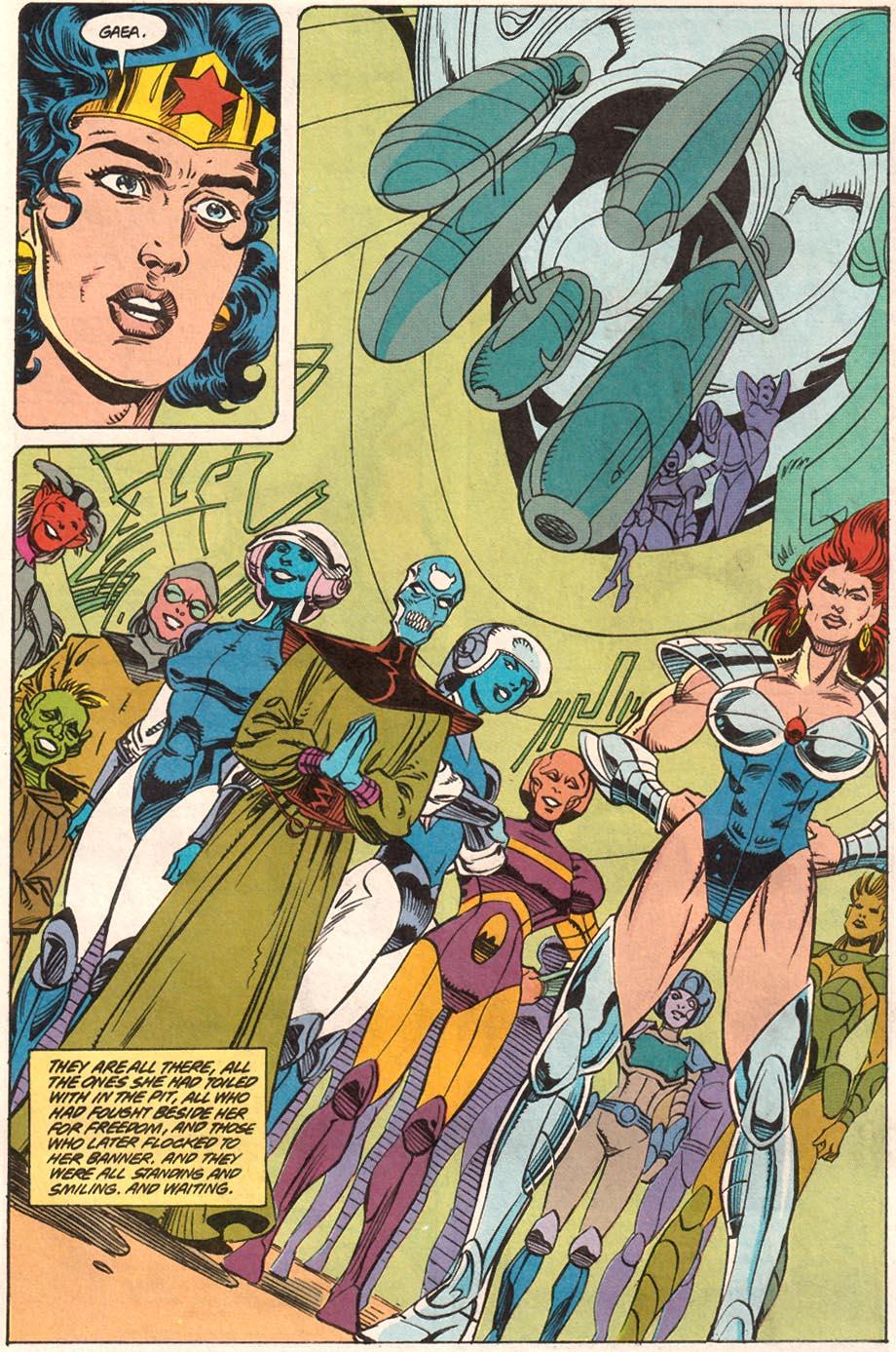 Read online Wonder Woman (1987) comic -  Issue #71 - 16