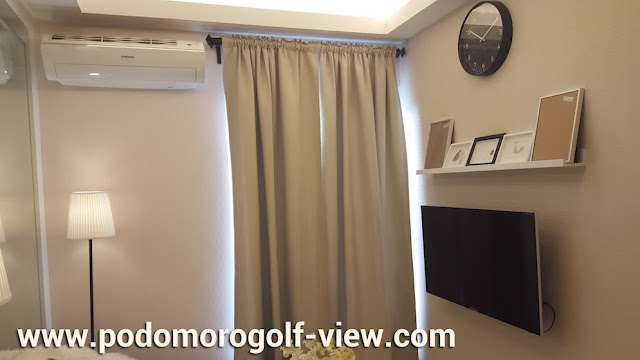 Show unit living room apartemen Podomoro Golf View