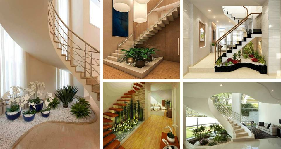 20 Best Beautiful Interior Landscape Under Stairs You Will Wish To Have In Your House - Desymbol & 20 Best Beautiful Interior Landscape Under Stairs You Will Wish To ...