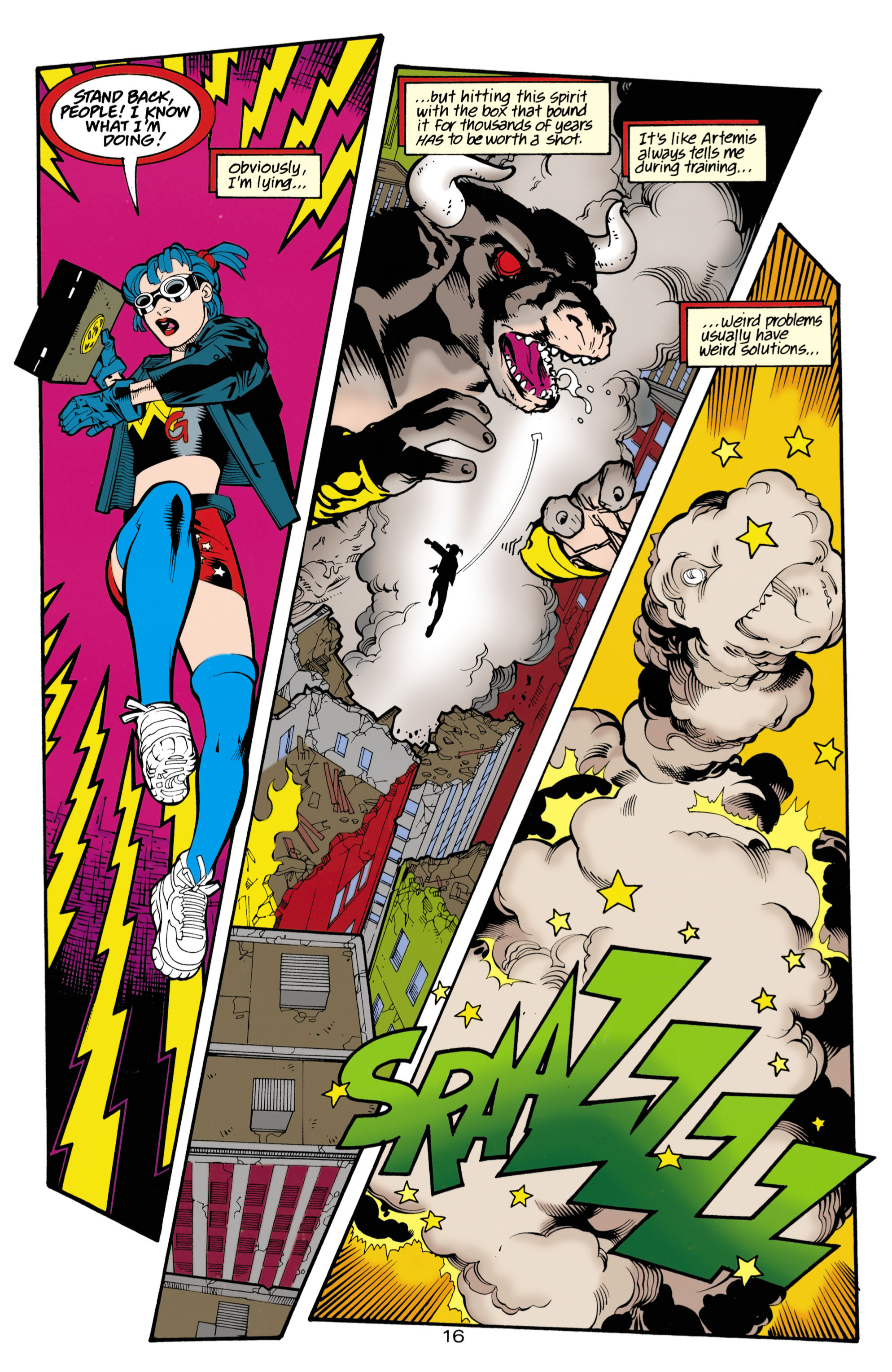 Read online Wonder Woman (1987) comic -  Issue #153 - 16