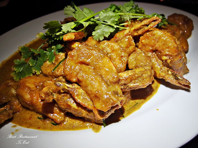 Thai Chu Chi Prawns