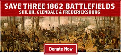 Critical Land at Shiloh, Glendale and Fredericksburg
