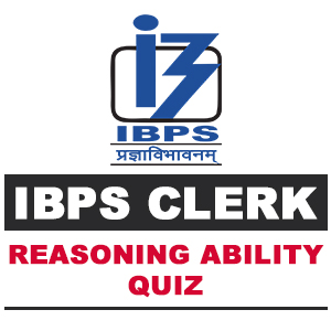 Reasoning Ability For IBPS Clerk | 26- 10 - 18