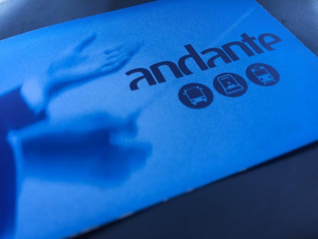cartão Andante