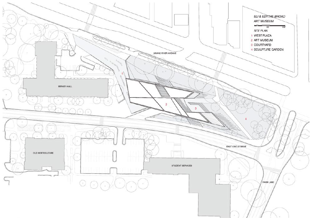 Architectureweek people and places zaha hadid in east for Site plan drawing online