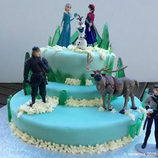 hiasan frozen untuk kue ulang tahun