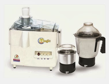 Padmini Magic Juicer Mixer Grinder (450 W) worth Rs.2750 for Rs.1370 @ Pepperfry (Next Lowest Price Infibeam for Rs.1649)