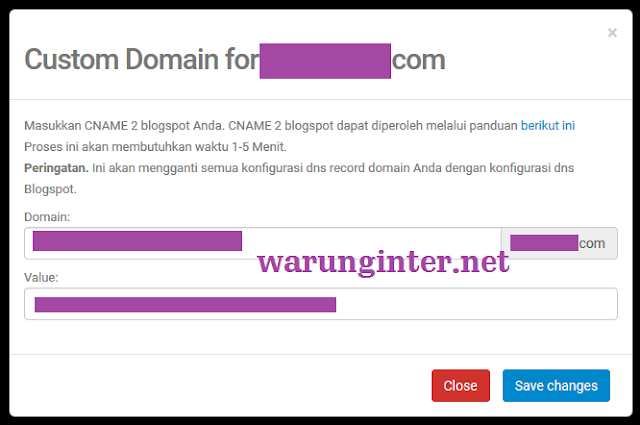 Custom domain TLD