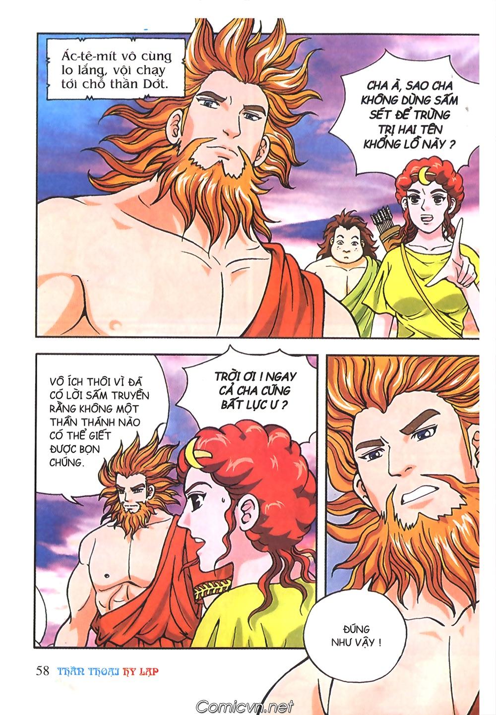 Thần Thoại Hy Lạp Màu - Chapter 58: Cuộc chiến định mệnh 2 - Pic 5