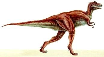 Imagen de un Tarbosaurus caminando