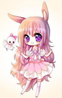 Imágenes Kawaii Tiernas Hermosas Amor Chicas anime girls