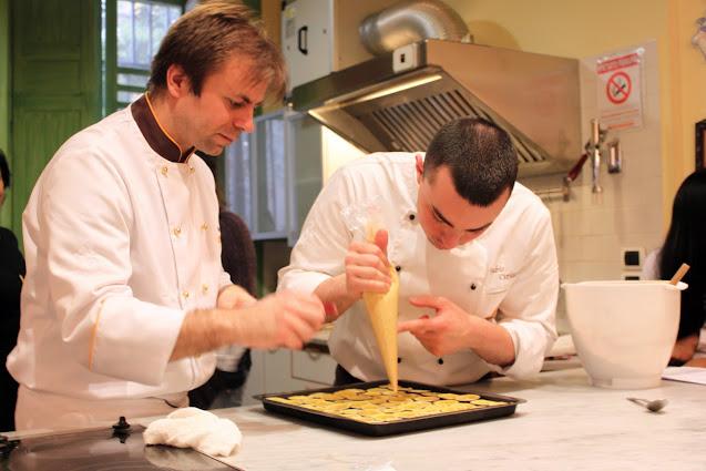 Lezione di pasticceria con Luca Montersino