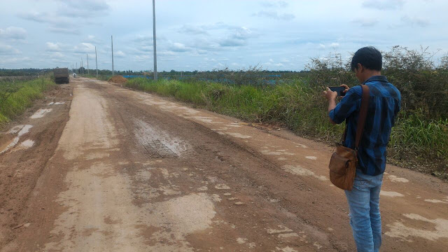 Pembangunan Jalan Cor Beton Sepucuk Asal Jadi