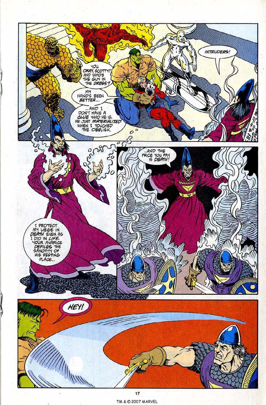 Read online Silver Surfer (1987) comic -  Issue #96 - 19
