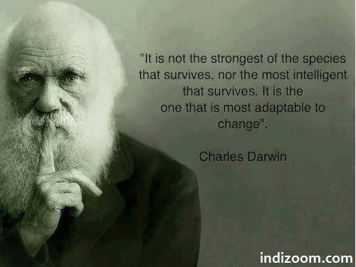 Quotes by Charles Darwin  - INDI ZOOM