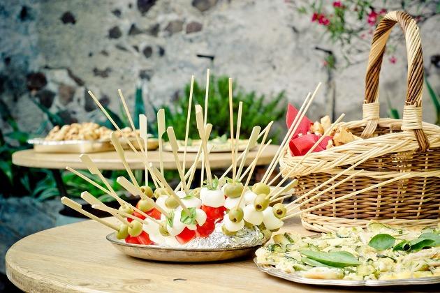 tendencias gastronómicas para bodas menu vegetariano