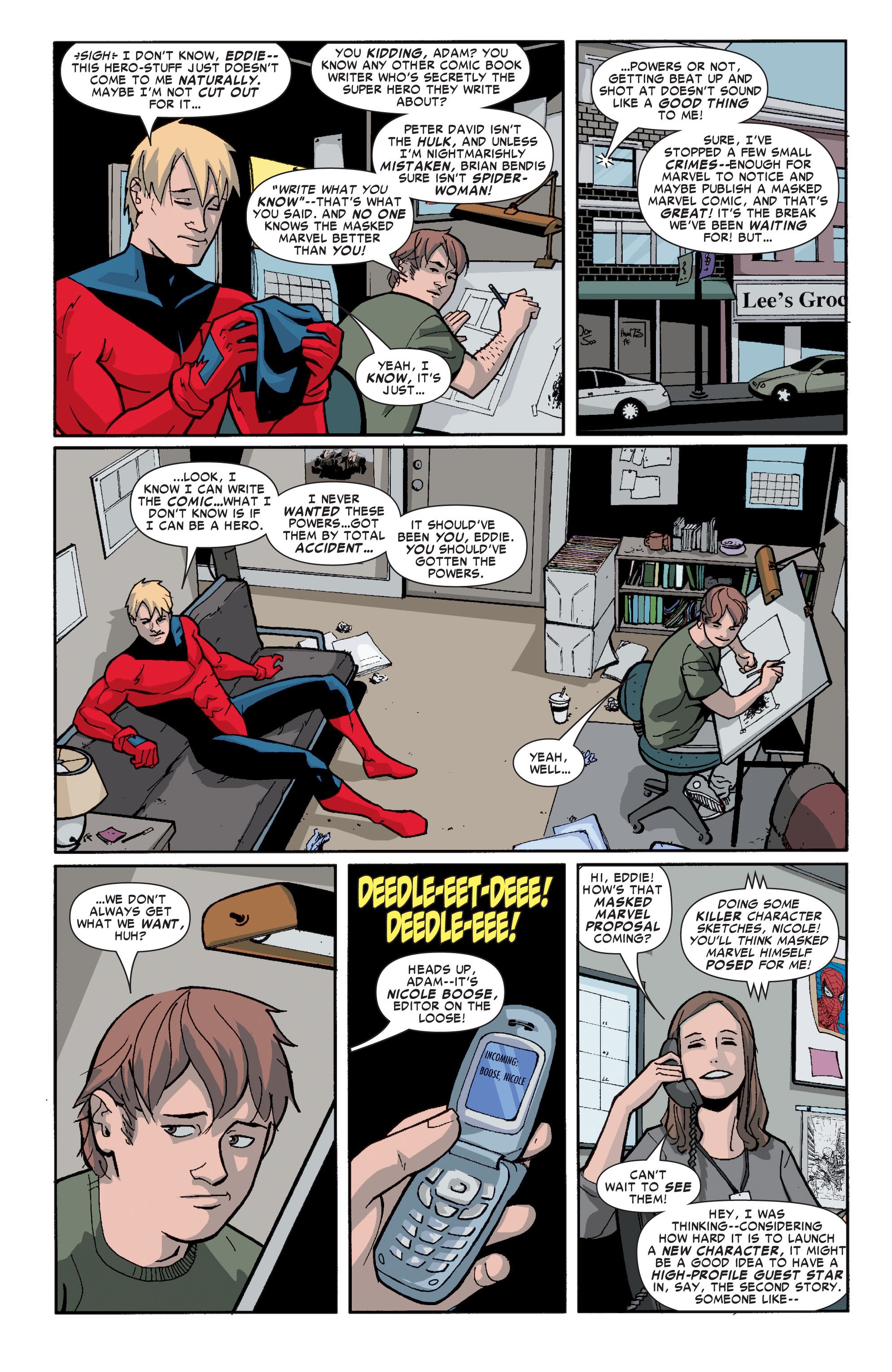 Read online Ultimate X-Men comic -  Issue #72 - 25