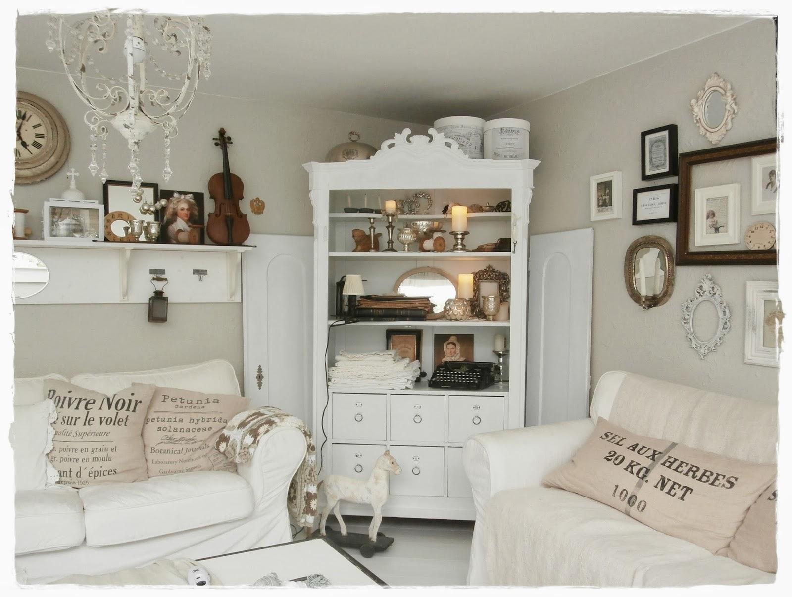 Elegant Landhausstil Farben Raumgestaltung Ideen