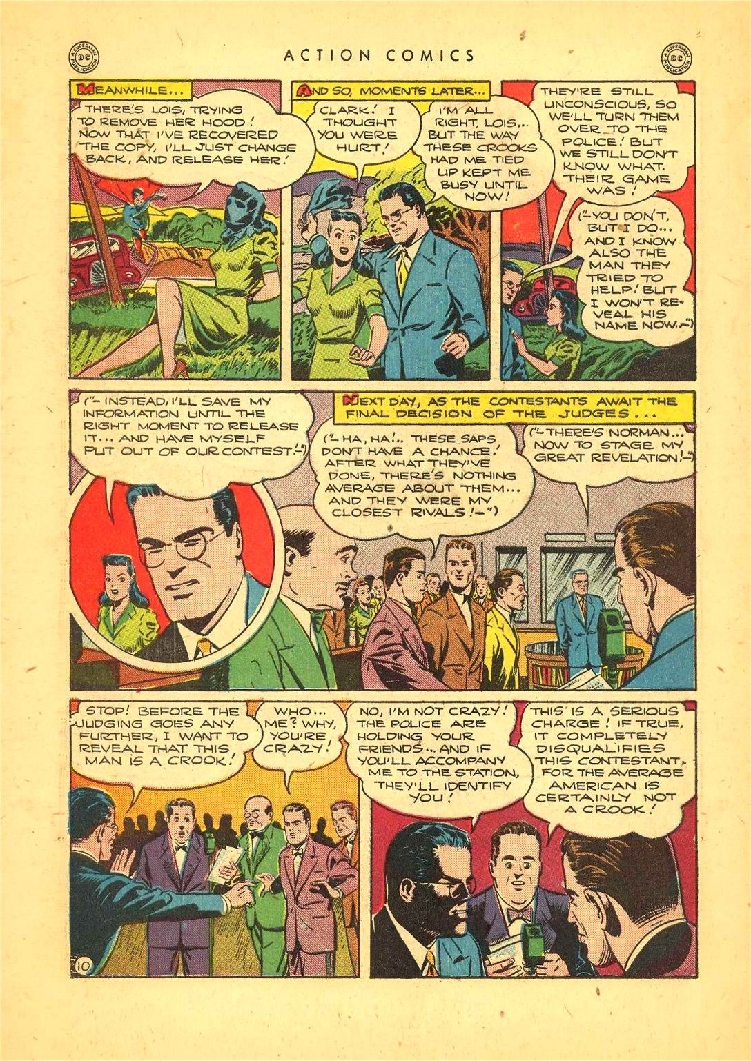 Read online Action Comics (1938) comic -  Issue #92 - 12