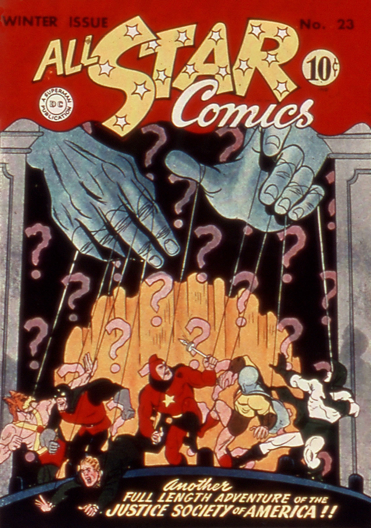 Read online All-Star Comics comic -  Issue #23 - 1