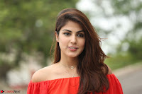 Rhea Chakraborty in Red Crop Top and Denim Shorts Spicy Pics ~  Exclusive 166.JPG