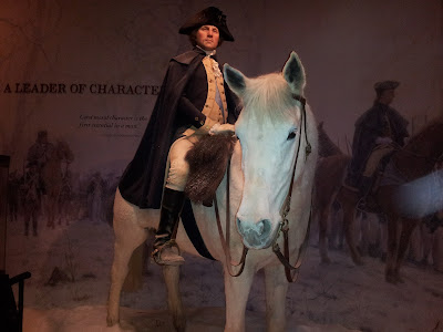 George Washington on horseback (Mount Vernon Visitor's Center)