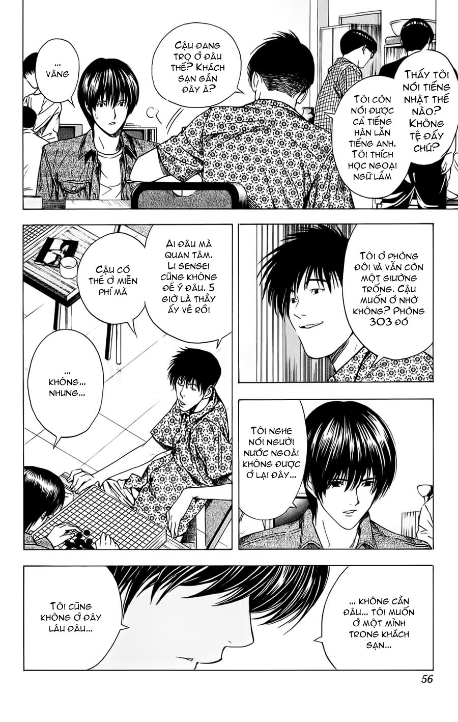 Hikaru No Go hikaru no go chap 133 trang 9