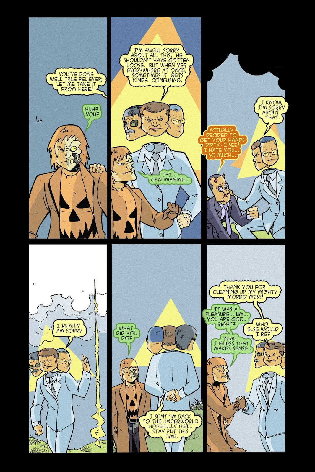 Read online Halloween Man comic -  Issue #9 - 82