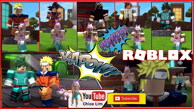 Chloe Tuber Roblox Anime Tycoon Gameplay I Am Naruto And