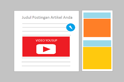 2 Cara Menyisipkan YouTube Pada Postingan Blog AMP