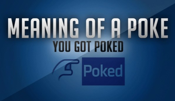 what does a poke mean on facebook