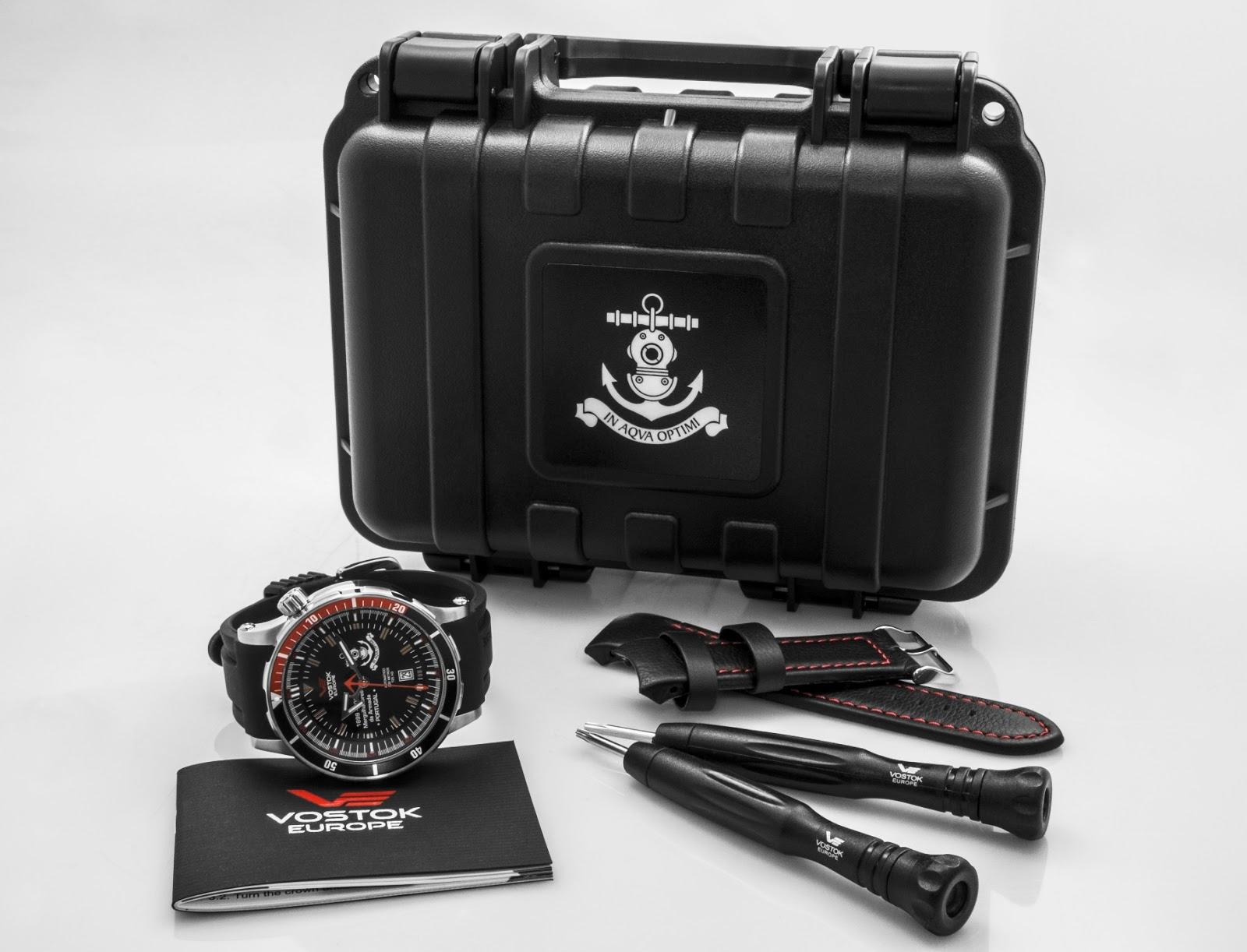 4af43b76e38 Vostok Europe entrega relógios aos Mergulhadores da Armada Portuguesa